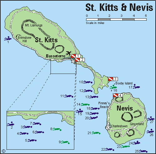 Who Flies To St Kitts: ST KITTS & NEVIS 2